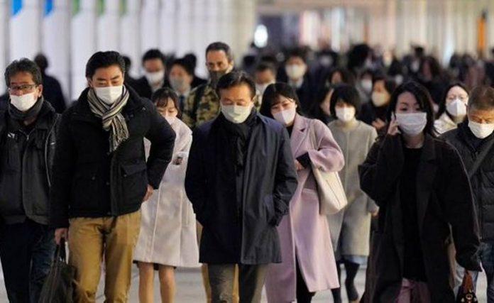 nueva cepa de coronavirus en japón