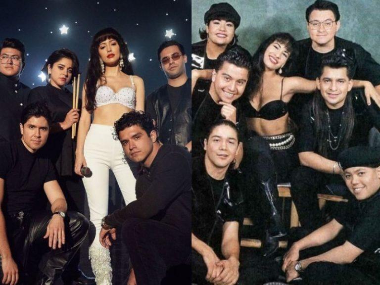 FARÁNDULA  ¿Se parece el elenco de la serie Selena con los personajes en la vida real?