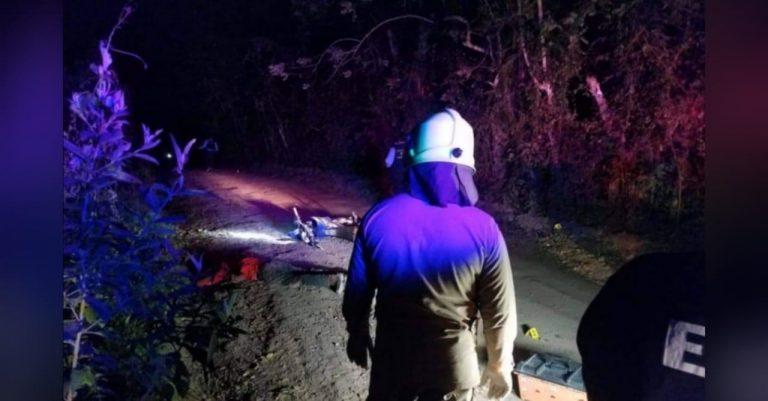 Juticalpa: en cercanías de centro penal, asesinan a dos hombres en motocicleta
