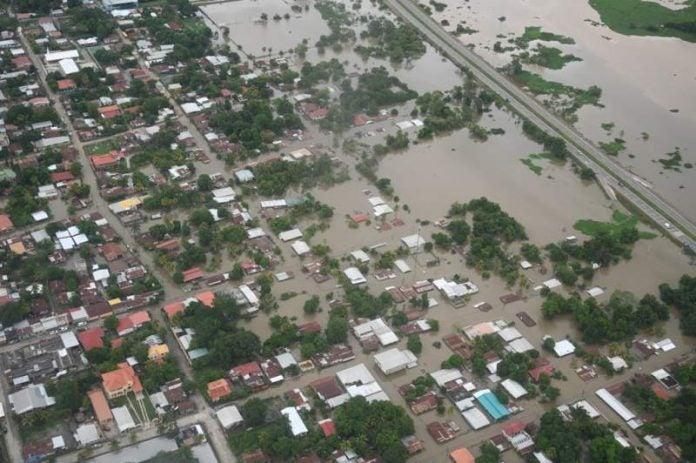 lluvia represas Honduras Kawas