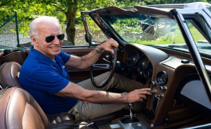 colección autos Biden