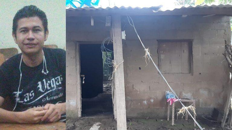 """""""Veo lejos mi objetivo"""": Eta e Iota ahogaron su sueño de graduarse de la UNAH y ser periodista"""