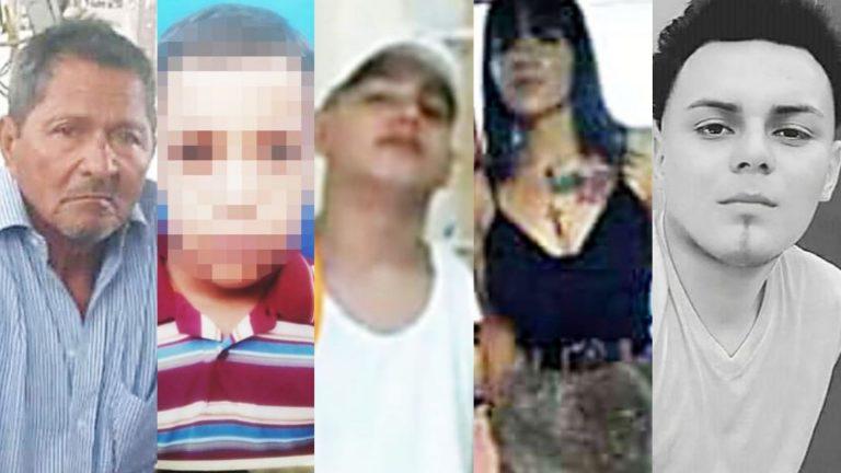 """Los rostros de las víctimas de la nueva ola de """"empaquetados"""" en Honduras"""