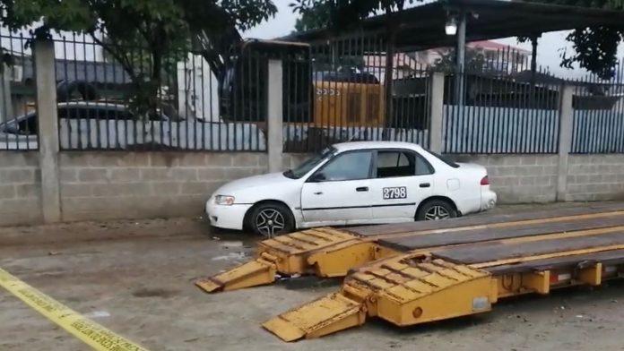 taxista muerto en SPS