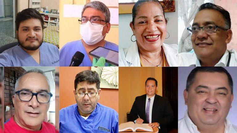 Héroes sin capa: rostros de los 64 médicos fallecidos por Covid-19 en 10 meses
