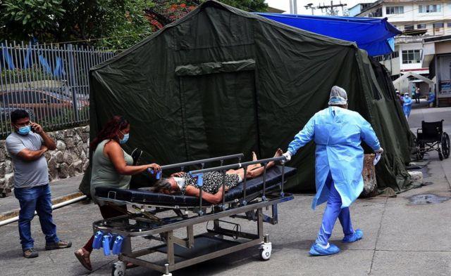 muertos por Covid Honduras