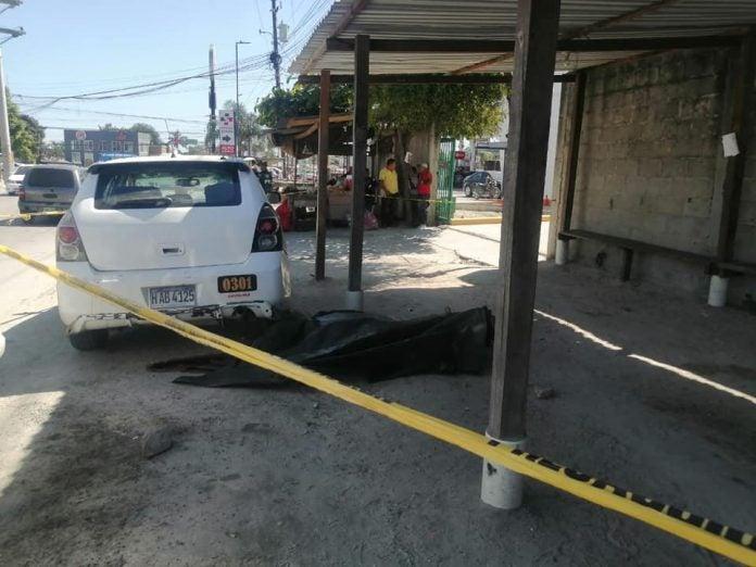 llegan a matar taxista en Choloma