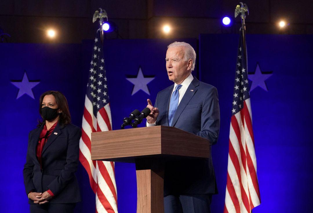 Joe Biden toma de posesión