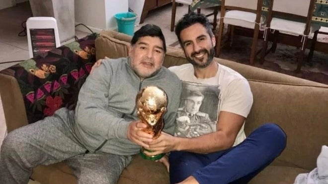 El médico de Maradona y un indignante audio: «El gordo se va a cagar muriendo»