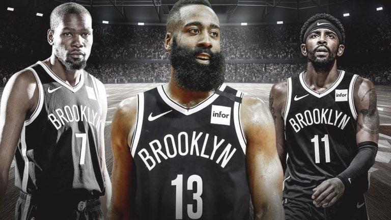 Durant, Irving y Harden, el tridente más caro en la historia de la NBA