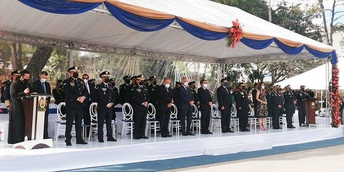 Ceremonia ascensos policía nacional