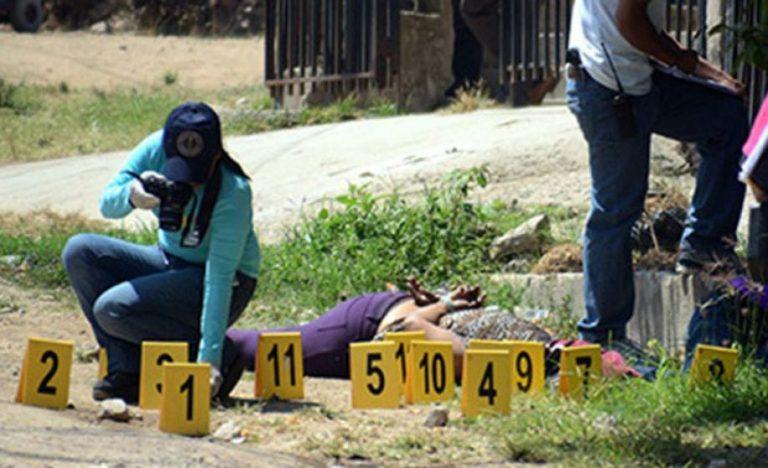 ¿En qué lugares de Honduras se reportan más muertes violentas de mujeres?