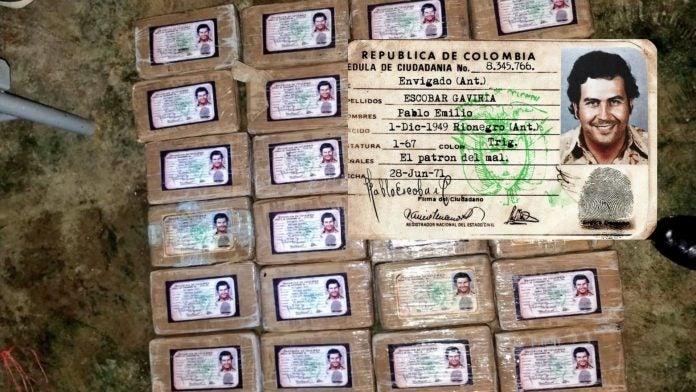 droga La Mosquitia Pablo Escobar