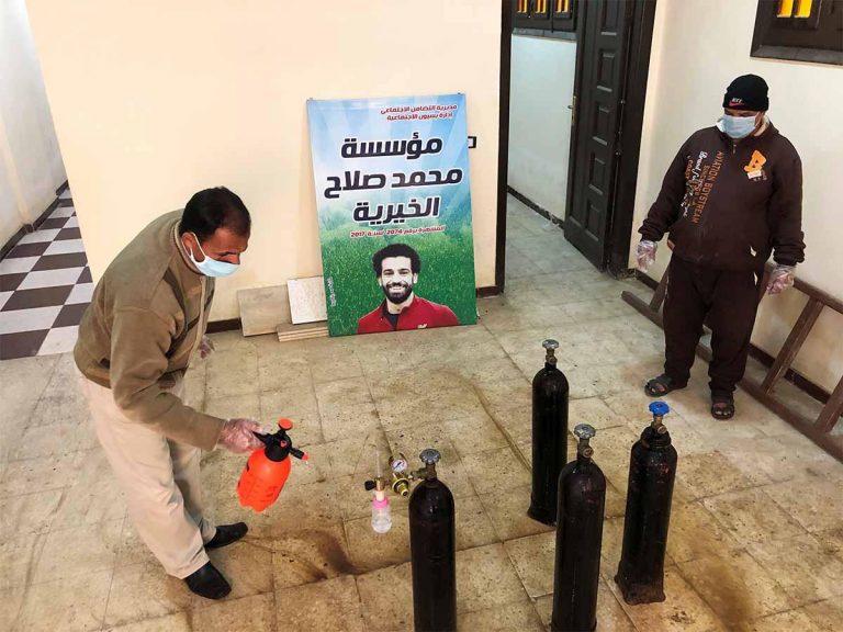 Mohamed Salah y su noble gesto con Egipto en época de pandemia