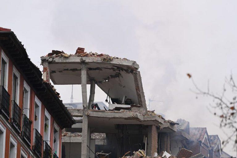 «Ha sido como una bomba, como una guerra», relata testigo de explosión en Madrid