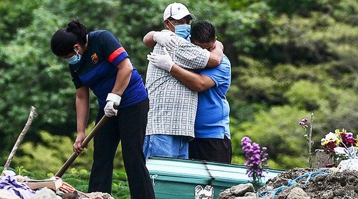 Covid Centroamérica muertes violencia