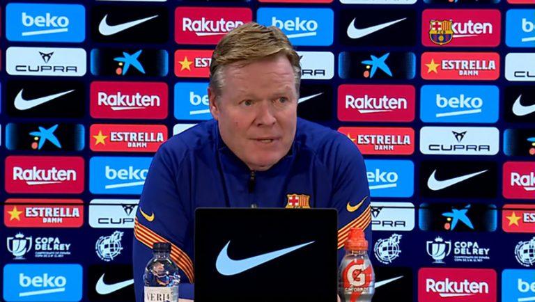 """Koeman: """"Si a mí me preguntan por Neymar o Mbappé, también digo que sí"""""""