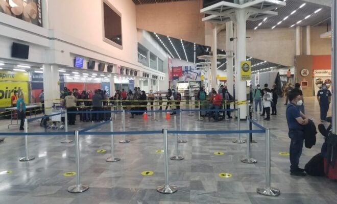 horas antes llegan viajeros Aeropuerto Villeda Morales