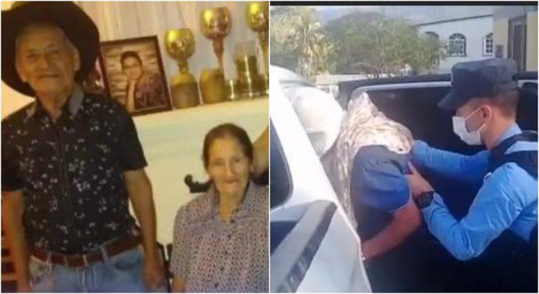 Anciano de 86 años, acusado de matar la esposa, estaba escondido entre la maleza