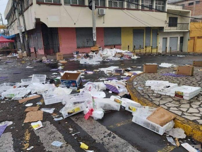 Toneladas basura capital 1 enero