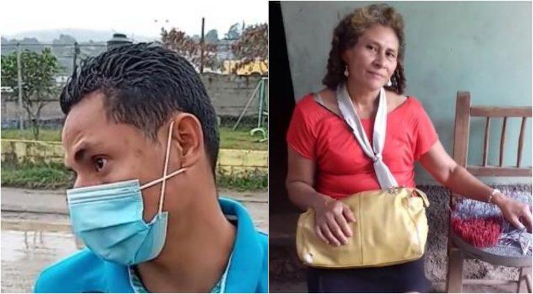 Copán: hijo busca a su madre desaparecida; «voy a ir a una vigilia con un pastor», les dijo