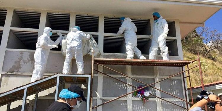 TGU: en cementerio humanitario entierran 27 cadáveres que nadie reclamó