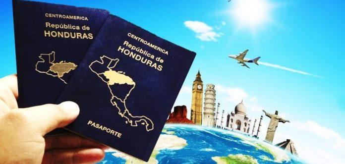 países para visitar con pasaporte hondureño
