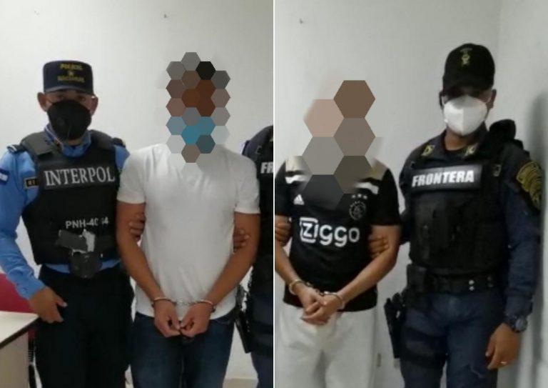 Cuando venían deportados, INTERPOL le cae a dos ciudadanos en Toncontín