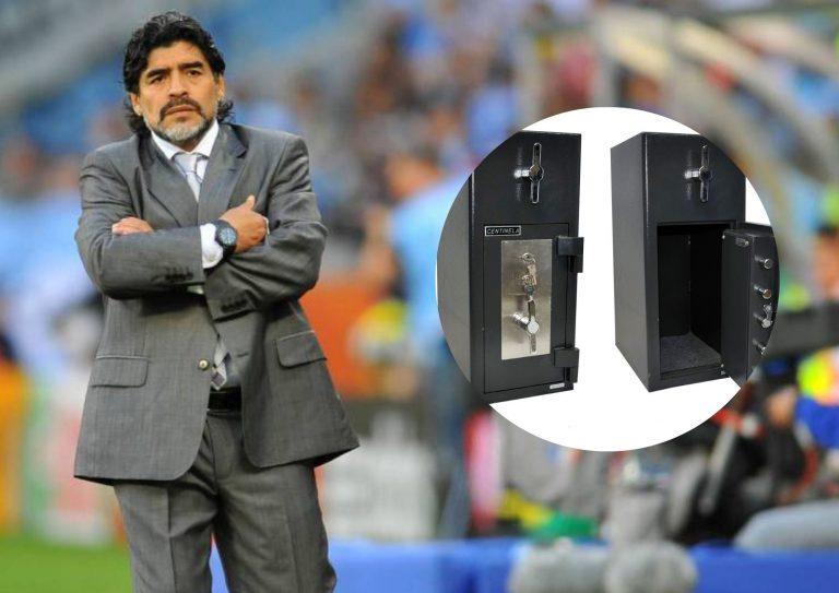 La herencia de Maradona y las misteriosas cajas fuertes que dejó en Dubái