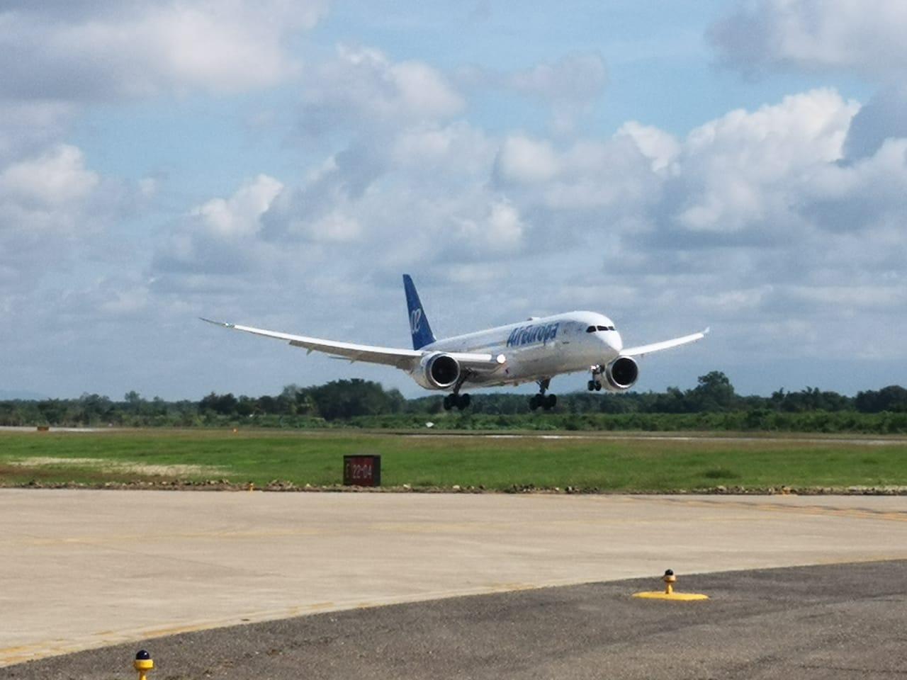 Aterriza vuelo en Aeropuerto Villeda Morales