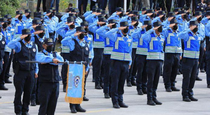 Ceremonia de ascensos Policía Nacional