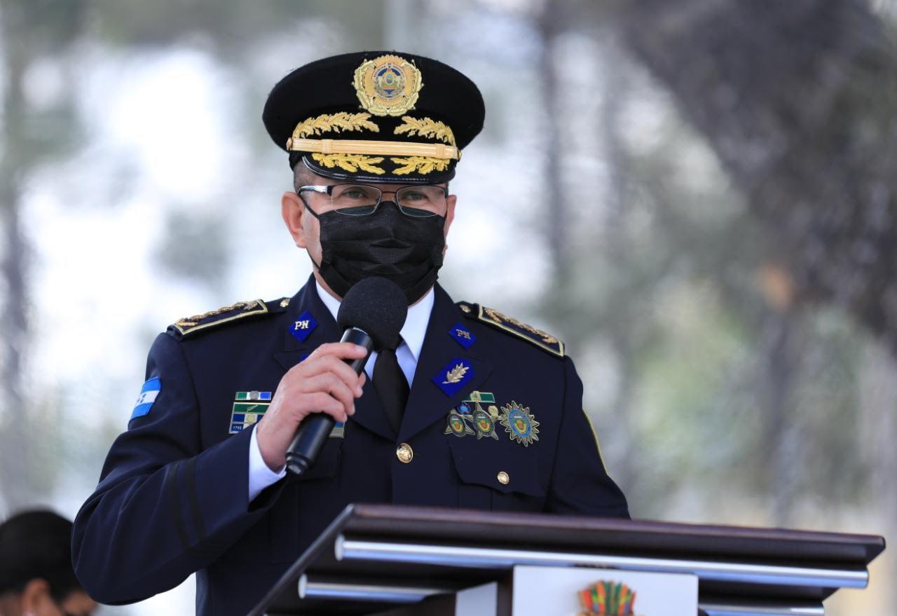 El comisionado general Orbin Alexis Galo Maldonado, nuevo director.