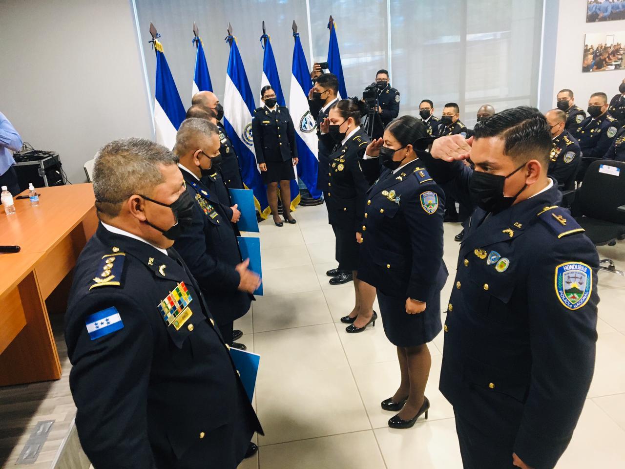 Así se vivió la ceremonia de ascensos de la Policía Nacional.