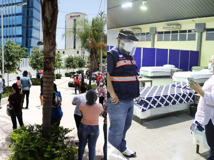 cierre triajes Centro Cívico Infop