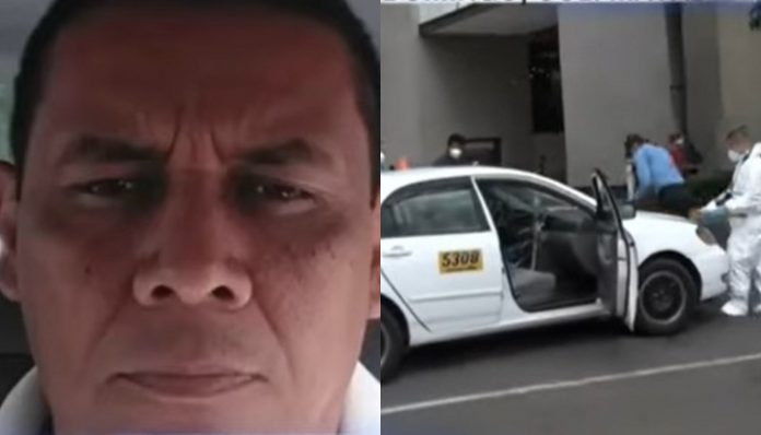 muere taxista atentado mall