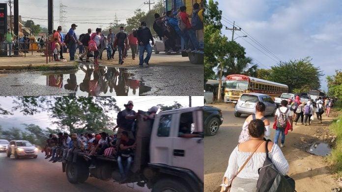 historias hondureños caravana de migrantes