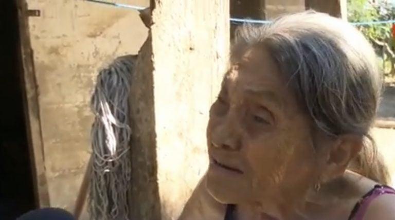 La Lima: Doña María rompe en llanto al contar que perdió todo tras el paso de Iota y Eta