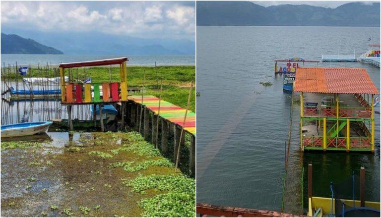 Lago de Yojoa: sitios turísticos siguen inundados luego de Iota y Eta