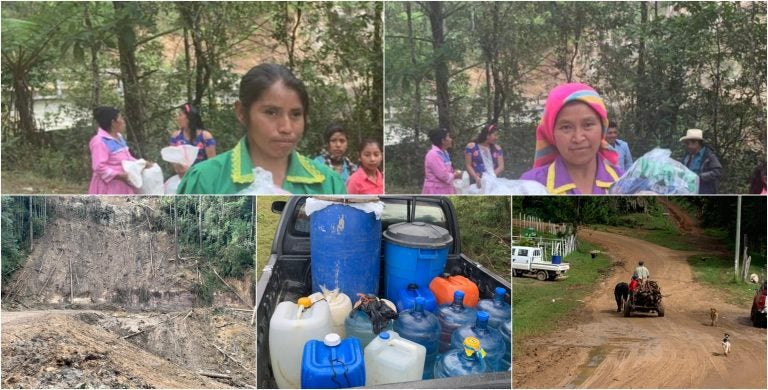 Los lencas, entre el olvido y la miseria: no hay agua, cultivos, y tampoco buenos caminos