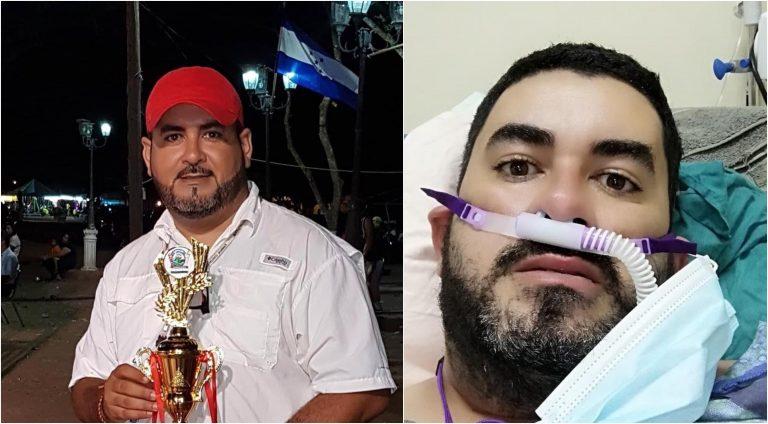 El hondureño y promotor artístico, Romeo Barrientos, necesita ayuda para salvar su vida