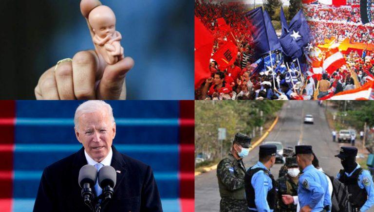 PASO EN LA SEMANA: Joe Biden, ley del aborto en Honduras y suspenden salvoconductos