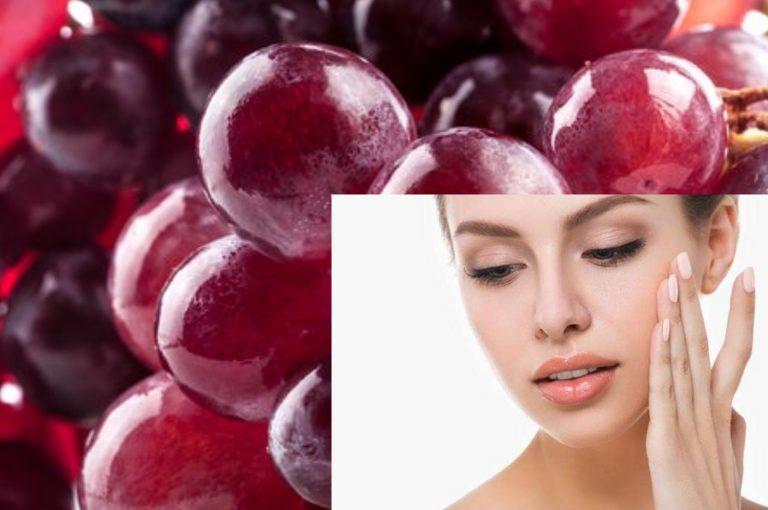Uvas, ayudan al cuidado de la piel y vuelven lento el envejecimiento