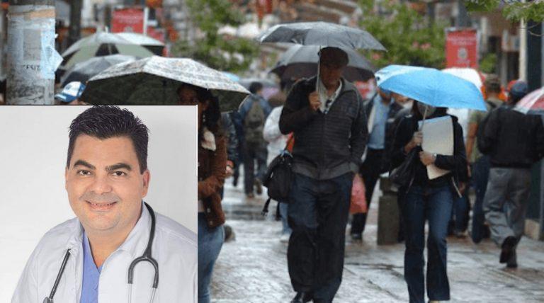 Médico explica cómo protegerse ante los repentinos cambios de clima