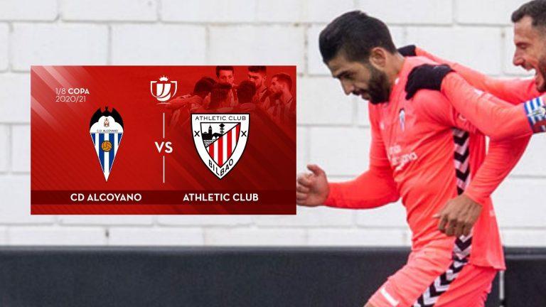Jona Mejía y Alcoyano se medirán al Athletic Club en la Copa del Rey