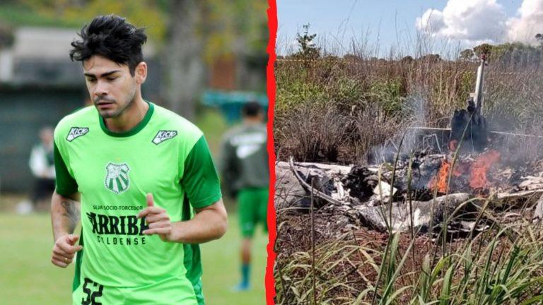 LUTO: Brasil llora muerte de jugadores accidentados en avión