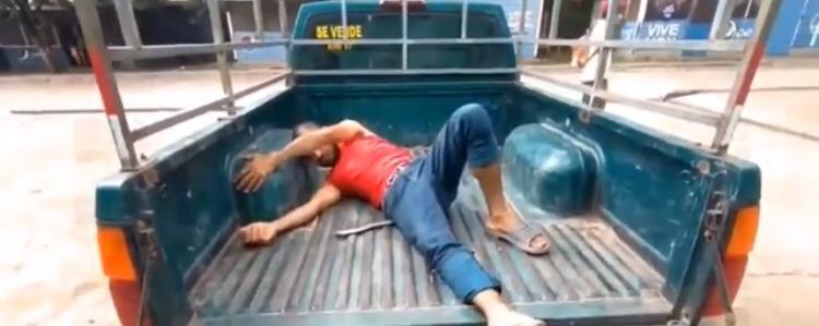 """Olanchito: hombre es herido de bala, supuestamente """"por freír unos camarones"""""""