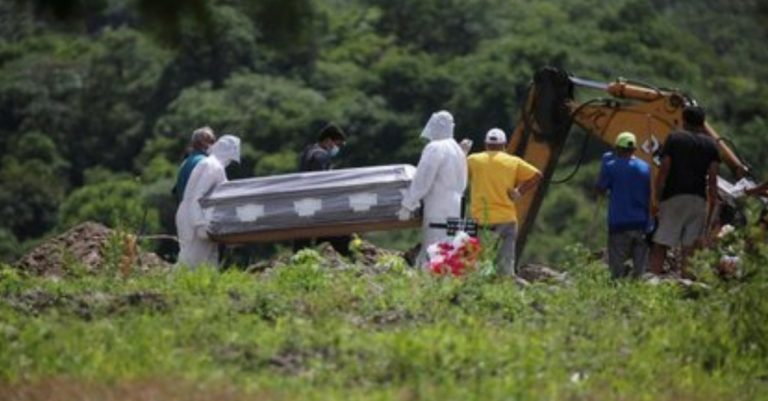 Honduras: funerarias reporta el doble de muertos por COVID-19