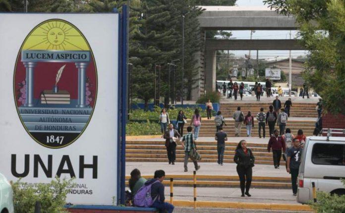 población estudiantil UNAH
