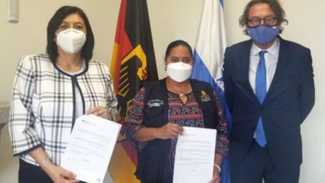Alemania donación al LNV