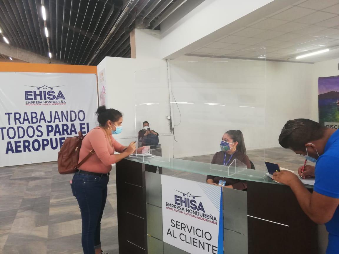 Vuelos de EEUU al Villeda Morales